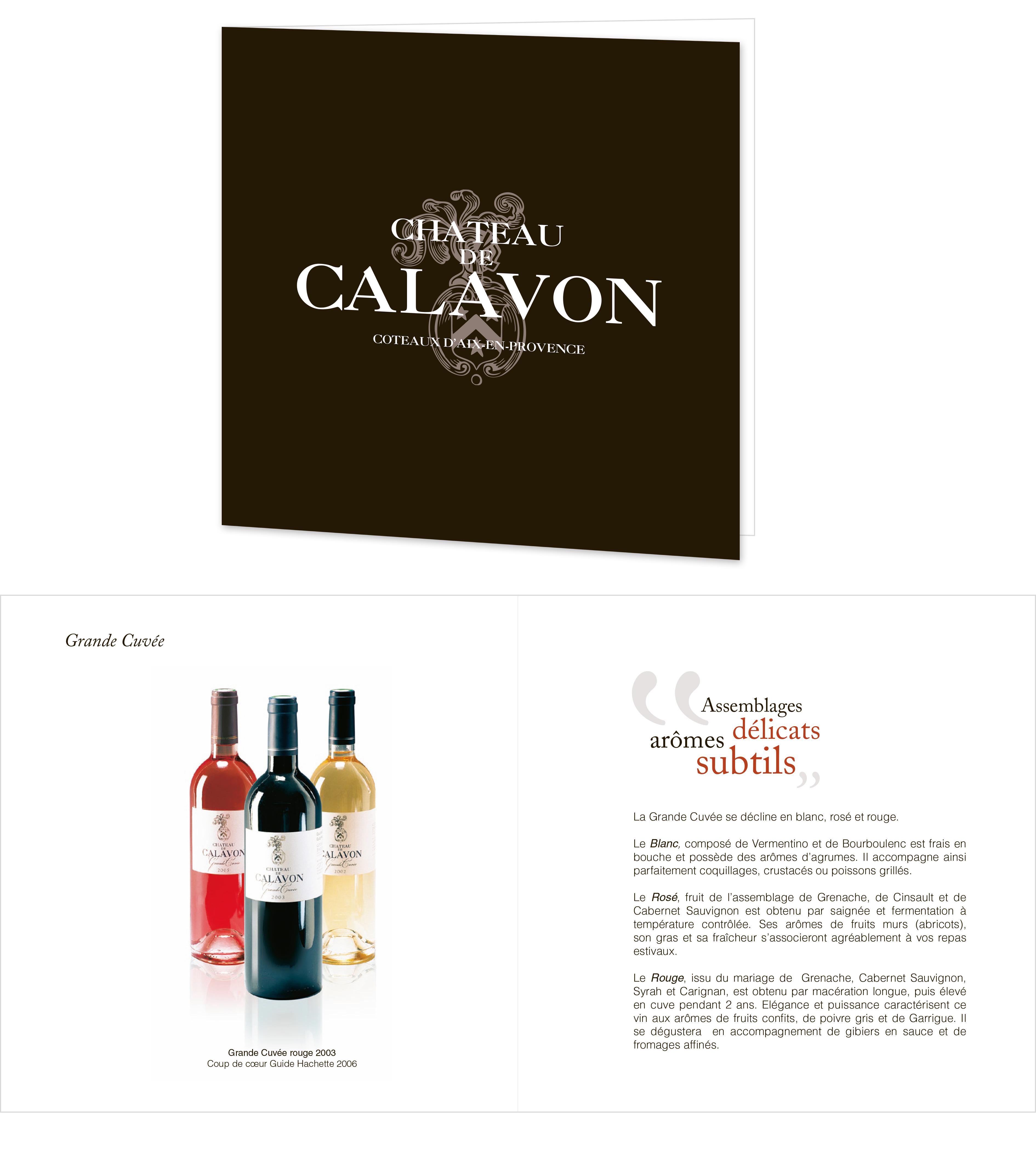 Le château de Calavon