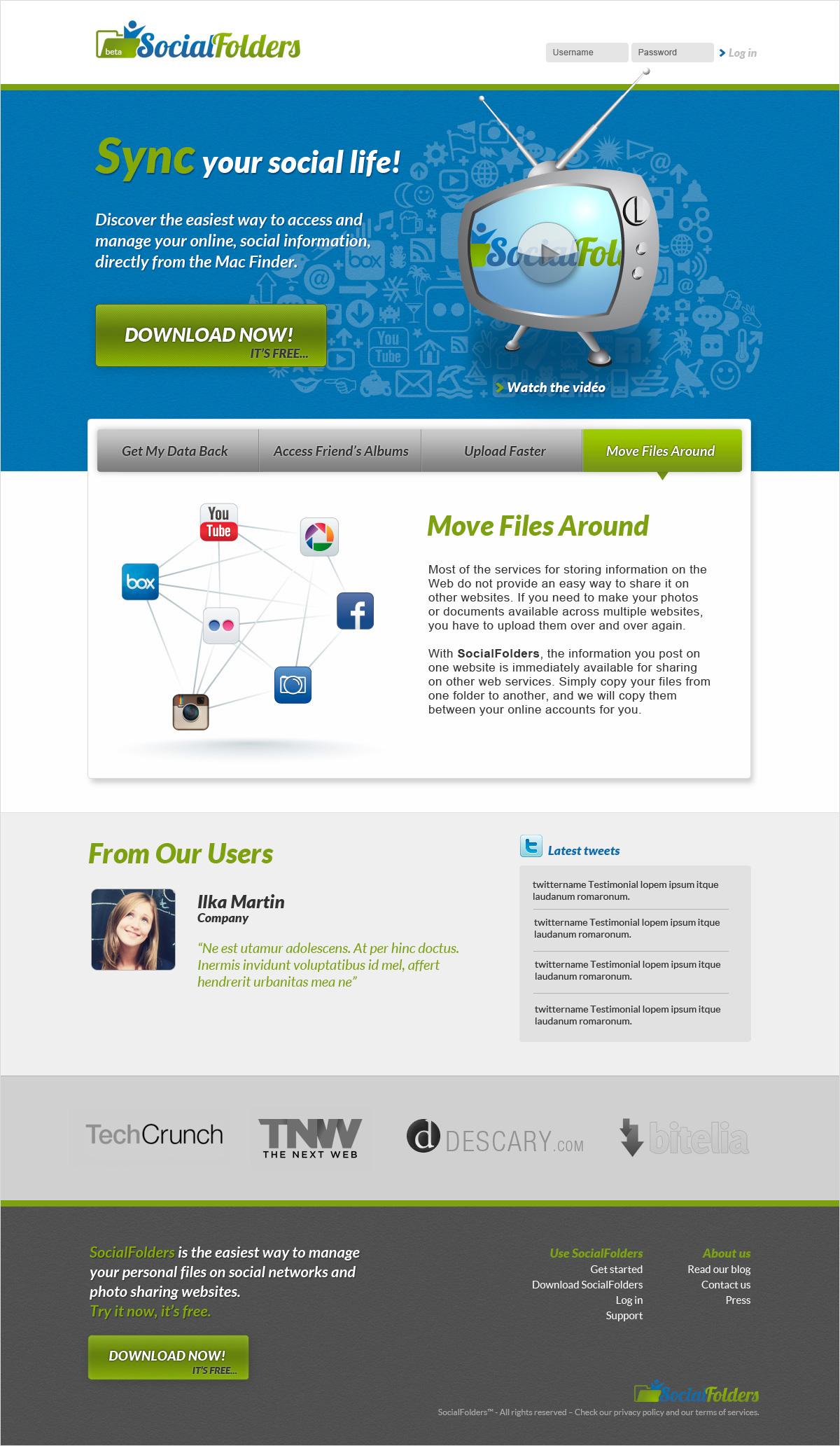 Social Folders